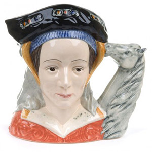 Anne of Cleves Toby Jug