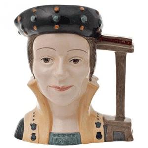 Catherine Parr Toby Jug