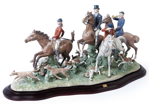 the-fox-hunt-lladro