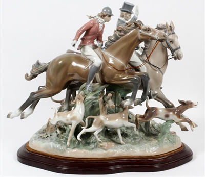 the-hunt-lladro