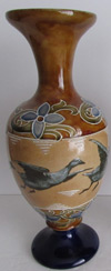 geese-flora-royal-doulton-antique-vase