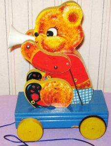 teddy-tooter-fisher-price-vintage-toy