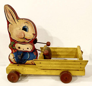 the-bunny-drummer-fisher-price-vintage-toy