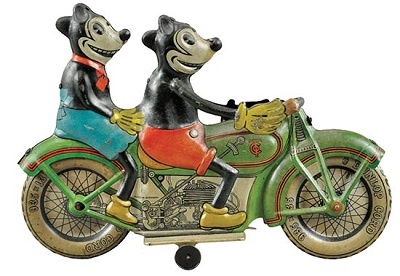 mickey-minnie-motorcycle-wind-up-tin-lithograph-toy