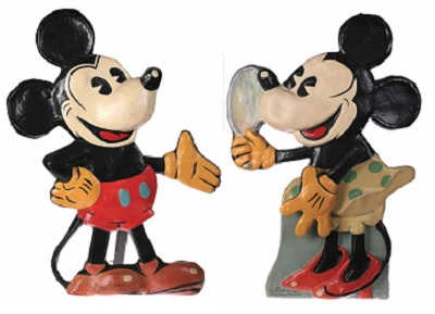 old-king-cole-1935-animated-window-display-mickey-minnie-mouse-pair
