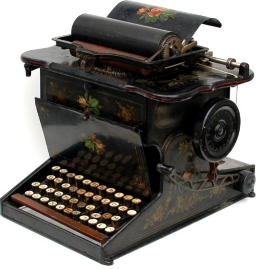 sholes-and-glidden-typewriter