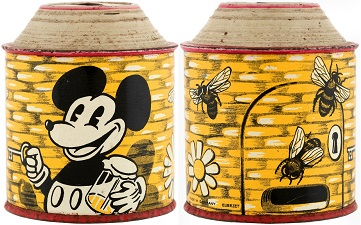 1930-mickey-mouse-beehive-money-bank