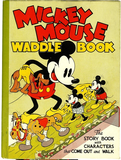 1934-Mickey-Mouse-Waddle-Book-Walt-Disney