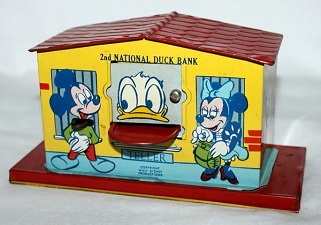 1950s-2nd national duck bank