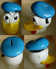 1960s-Donald-Duck-Head-Ceramic-Bank-Enesco
