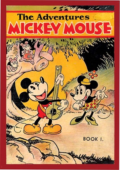 Adventures-of-Mickey-Mouse-Book-1