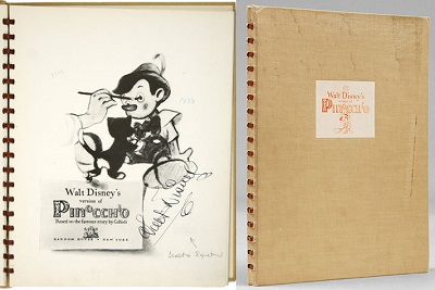 Pinocchio-production-illustration-book