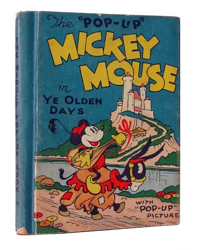 mickey-mouse-in-ye-old-days-pop-up-book