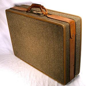 Hartmann-Brass-Leather-Tweed-Damask-Suitcase