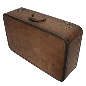 Wings-United-Brass-Tweed-Style-Travel-Luggage-Suitcase